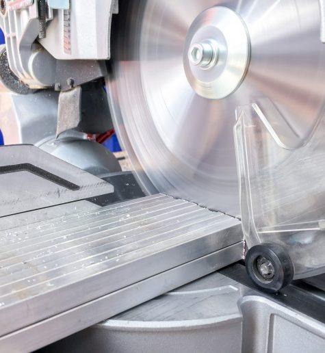 Extraction during cutting aluminum