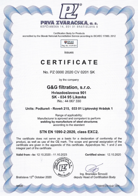 1090-2: 2020 Welding and production of steel structures
