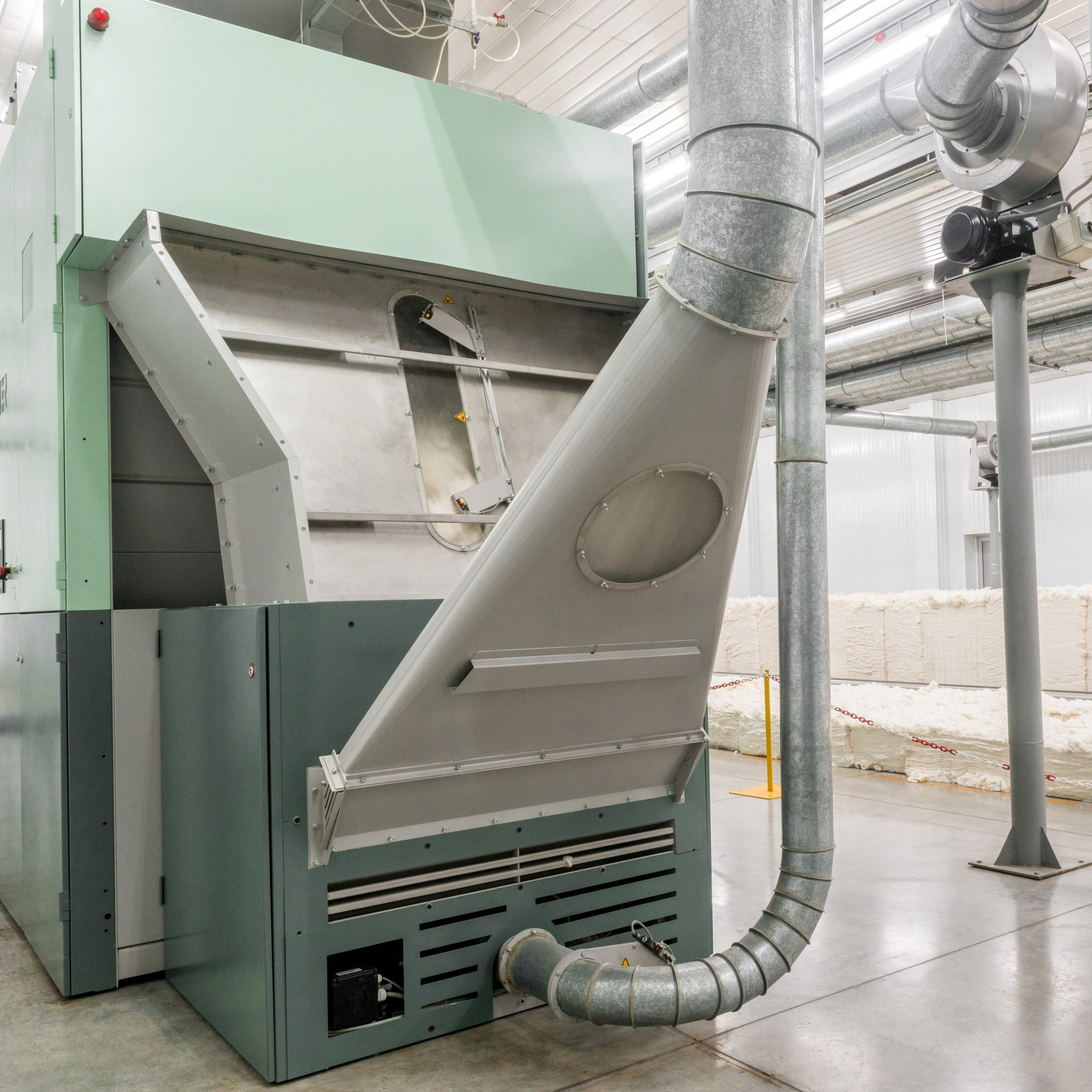 Textile dust extraction
